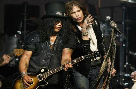 Aerosmith & Slash at First Midwest Bank Ampitheatre