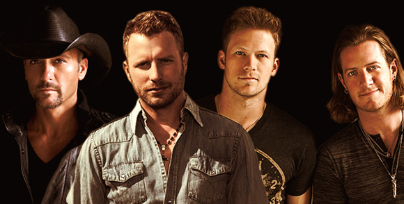 2015 Country Megaticket Tickets (Includes All Performances) at First Midwest Bank Ampitheatre