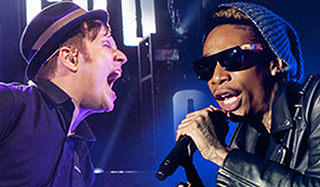 Fall Out Boy, Wiz Khalifa & Hoodie Allen at First Midwest Bank Ampitheatre