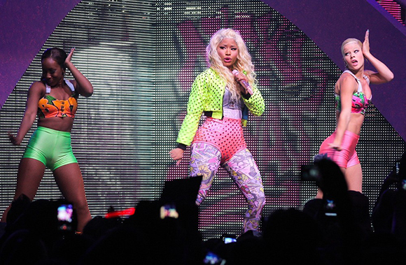 Nicki Minaj, Meek Mill & Rae Sremmurd at First Midwest Bank Ampitheatre