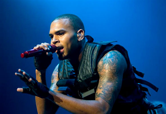 Chris Brown, Kid Ink & Omarion at First Midwest Bank Ampitheatre