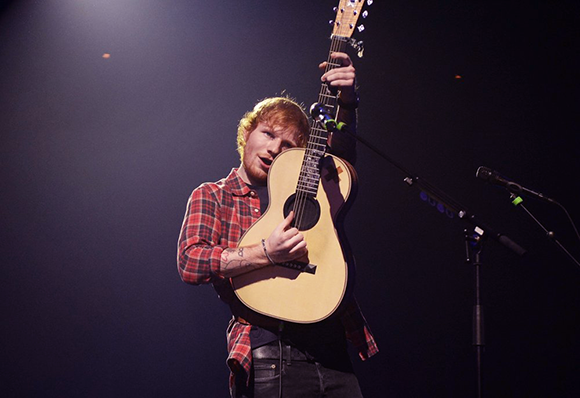 Ed Sheeran & Christina Perri at First Midwest Bank Ampitheatre
