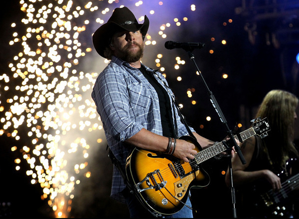 Toby Keith at Hollywood Casino Ampitheatre