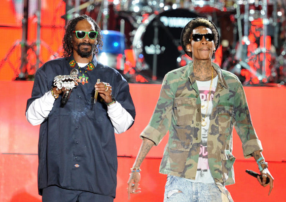 Snoop Dogg, Wiz Khalifa, Kevin Gates & Jhene Aiko at Hollywood Casino Ampitheatre