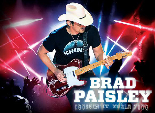 Brad Paisley & Tyler Farr at Hollywood Casino Ampitheatre