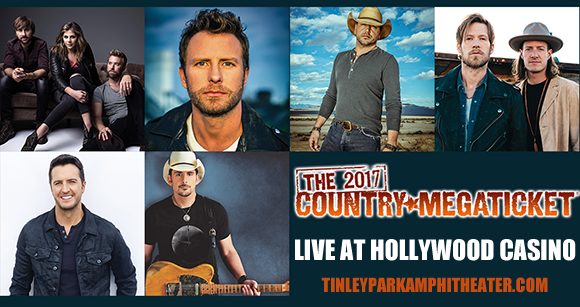 2017 Country Megaticket Tickets (Includes All Performances) at Hollywood Casino Ampitheatre
