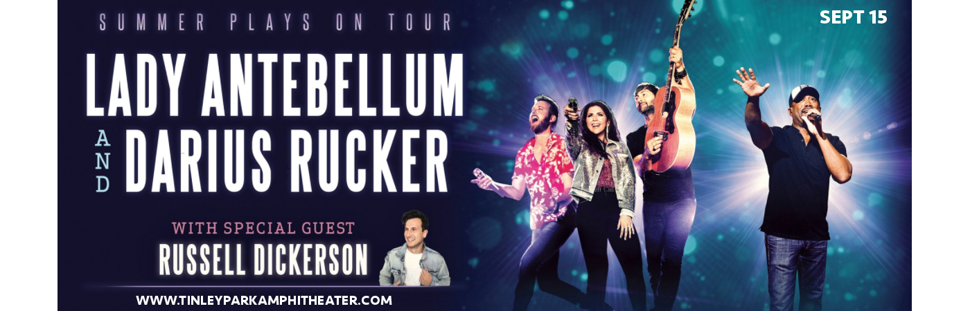 Lady Antebellum, Darius Rucker & Russell Dickerson at Hollywood Casino Ampitheatre