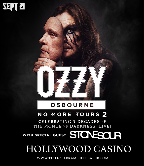 Ozzy Osbourne & Stone Sour at Hollywood Casino Ampitheatre