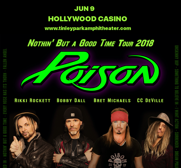 Poison & Cheap Trick at Hollywood Casino Ampitheatre