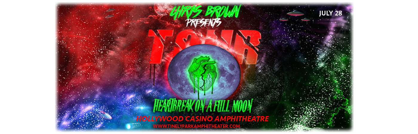 Chris Brown at Hollywood Casino Ampitheatre