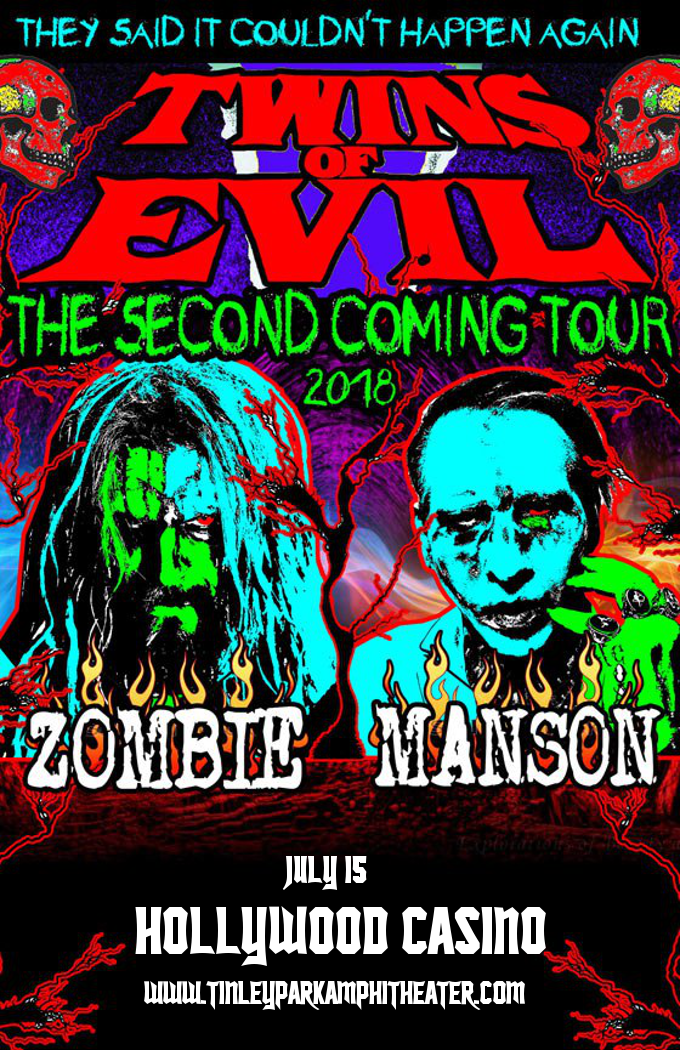 Rob Zombie & Marilyn Manson at Hollywood Casino Ampitheatre