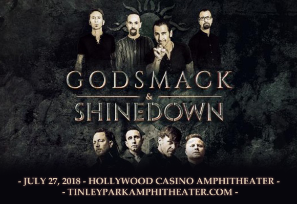 Shinedown & Godsmack at Hollywood Casino Ampitheatre