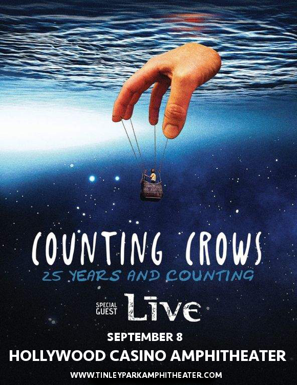 Counting Crows & Live - Band at Hollywood Casino Ampitheatre