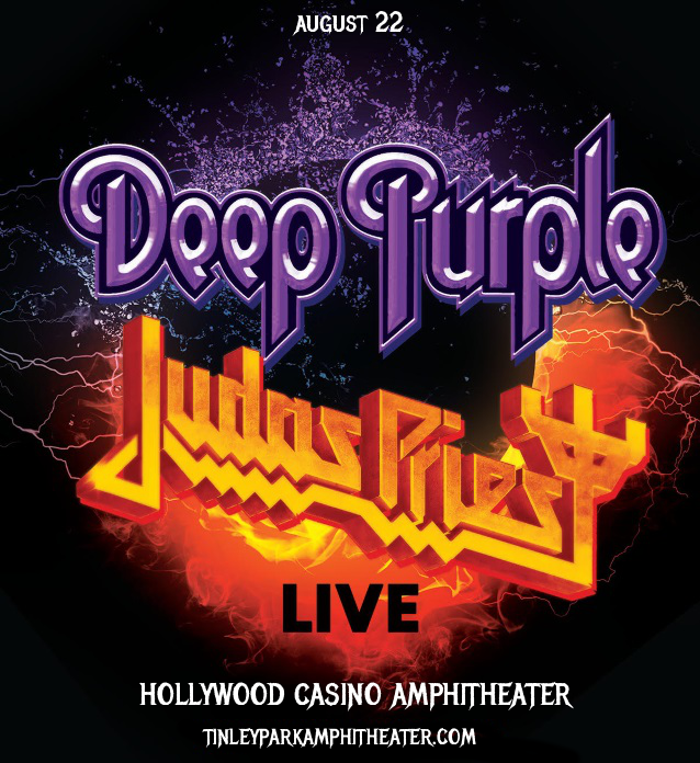 Deep Purple & Judas Priest at Hollywood Casino Ampitheatre