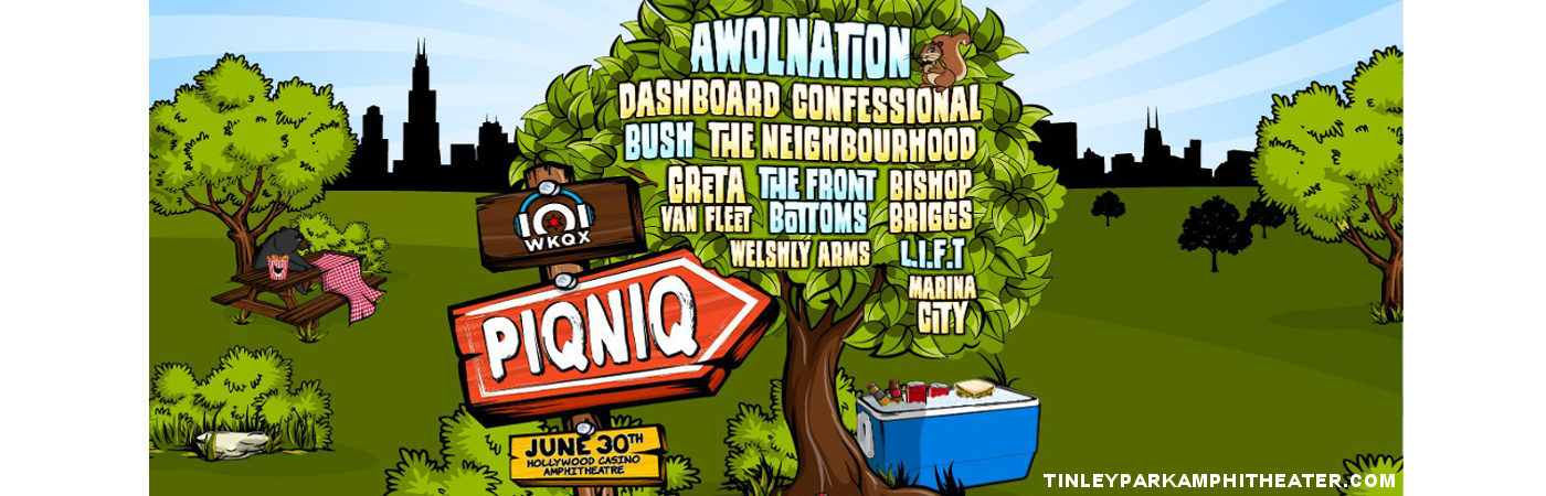 101 WKQX Piqniq: Awolnation, Dashboard Confessional, Bush & The Neighbourhood at Hollywood Casino Ampitheatre