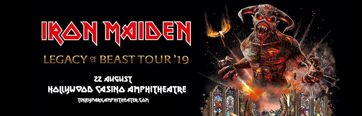 Iron Maiden at Hollywood Casino Ampitheatre