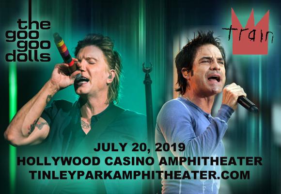 Train, Goo Goo Dolls & Allen Stone at Hollywood Casino Ampitheatre