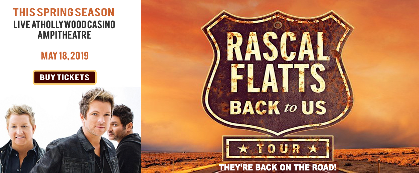 Rascal Flatts at Hollywood Casino Ampitheatre
