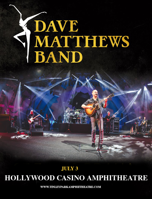 Dave Matthews Band at Hollywood Casino Ampitheatre
