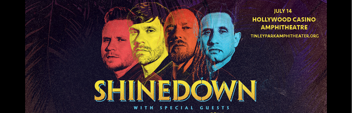 Shinedown at Hollywood Casino Ampitheatre