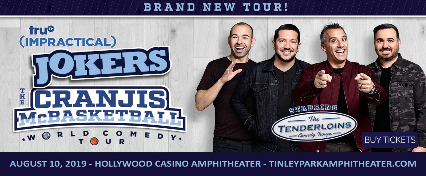 Cast Of Impractical Jokers at Hollywood Casino Ampitheatre