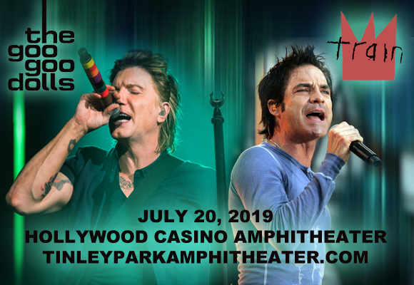 Train, Goo Goo Dolls & Allen Stone at Hollywood Casino Ampitheatre