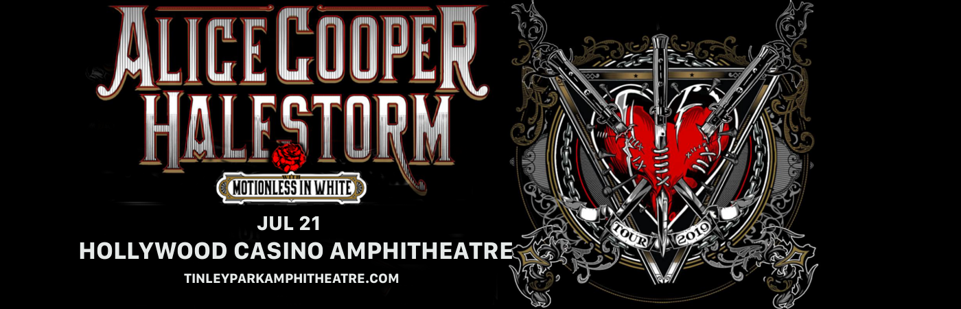 Alice Cooper & Halestorm at Hollywood Casino Ampitheatre