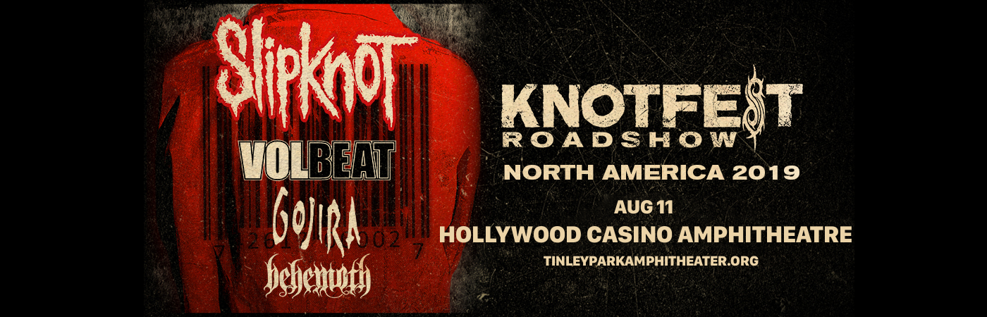 Slipknot, Volbeat, Gojira & Behemoth at Hollywood Casino Ampitheatre