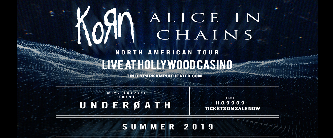 Korn & Alice In Chains at Hollywood Casino Ampitheatre