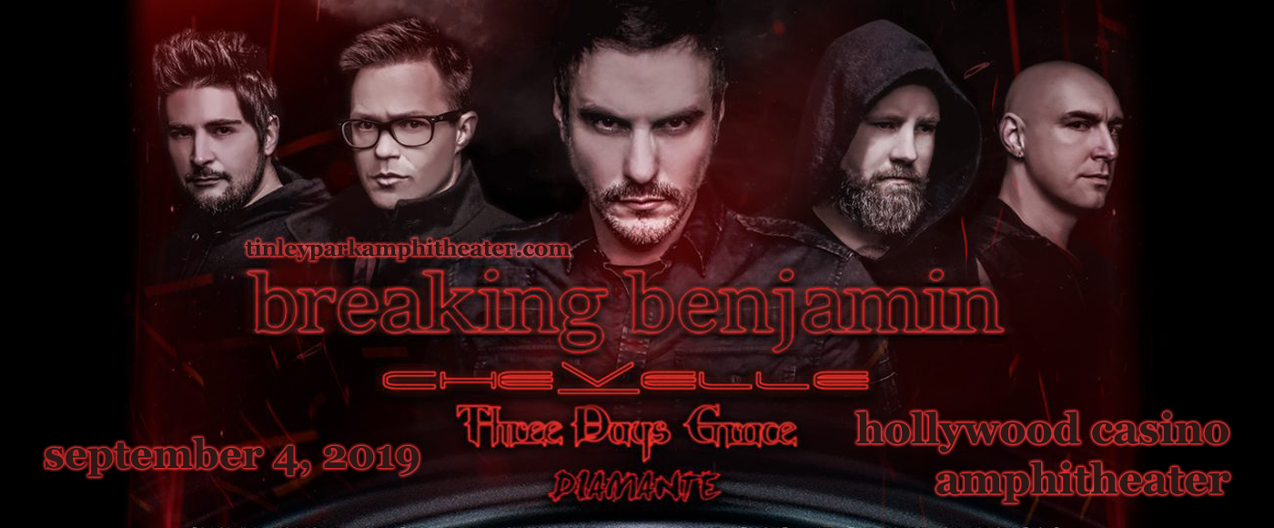 Breaking Benjamin at Hollywood Casino Ampitheatre