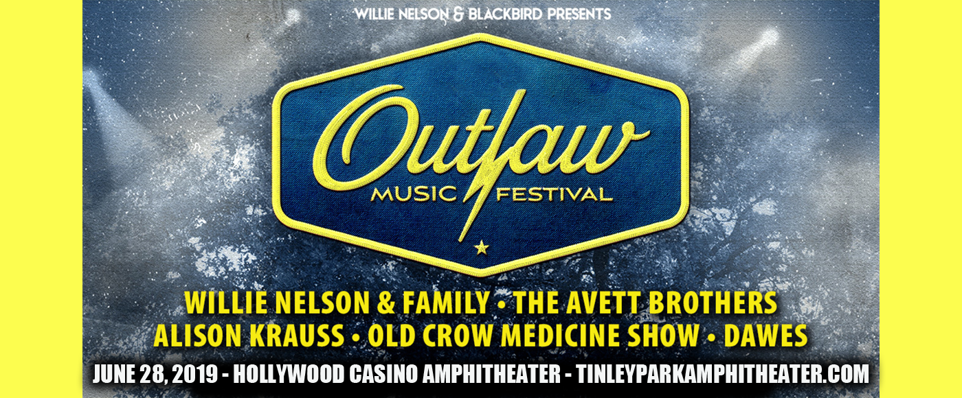 Outlaw Music Festival: Willie Nelson, The Avett Brothers, Alison Krauss, Dawes & Old Crow Medicine Show at Hollywood Casino Ampitheatre