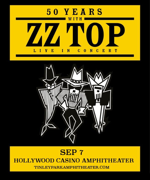 ZZ Top at Hollywood Casino Ampitheatre