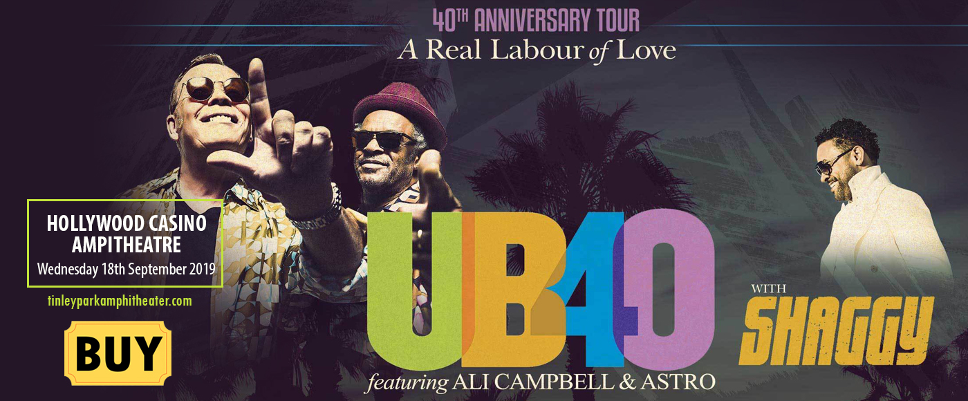 UB40's Ali and Astro & Shaggy at Hollywood Casino Ampitheatre