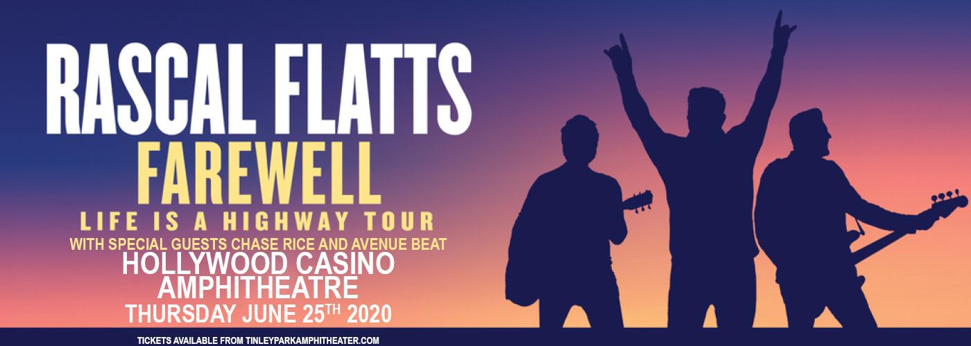Rascal Flatts at Hollywood Casino Amphitheatre