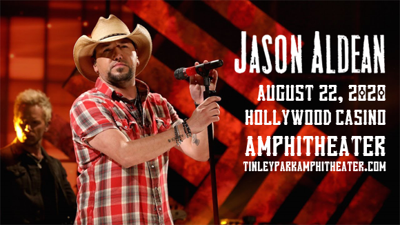 Jason Aldean, Brett Young, Mitchell Tenpenny & Dee Jay Silver at Hollywood Casino Amphitheatre