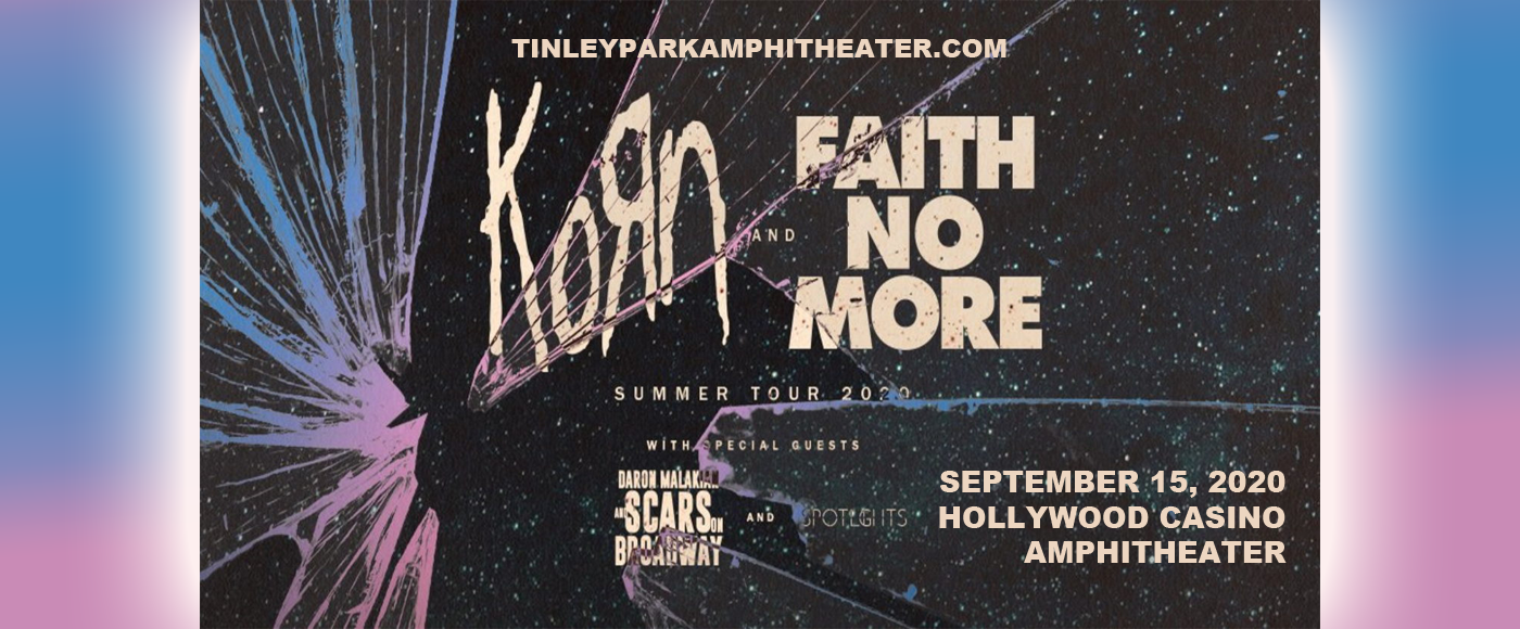 Korn, Faith No More, Helmet & '68 at Hollywood Casino Amphitheatre