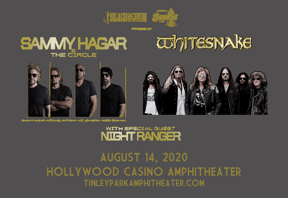 Sammy Hagar and the Circle & Whitesnake at Hollywood Casino Amphitheatre
