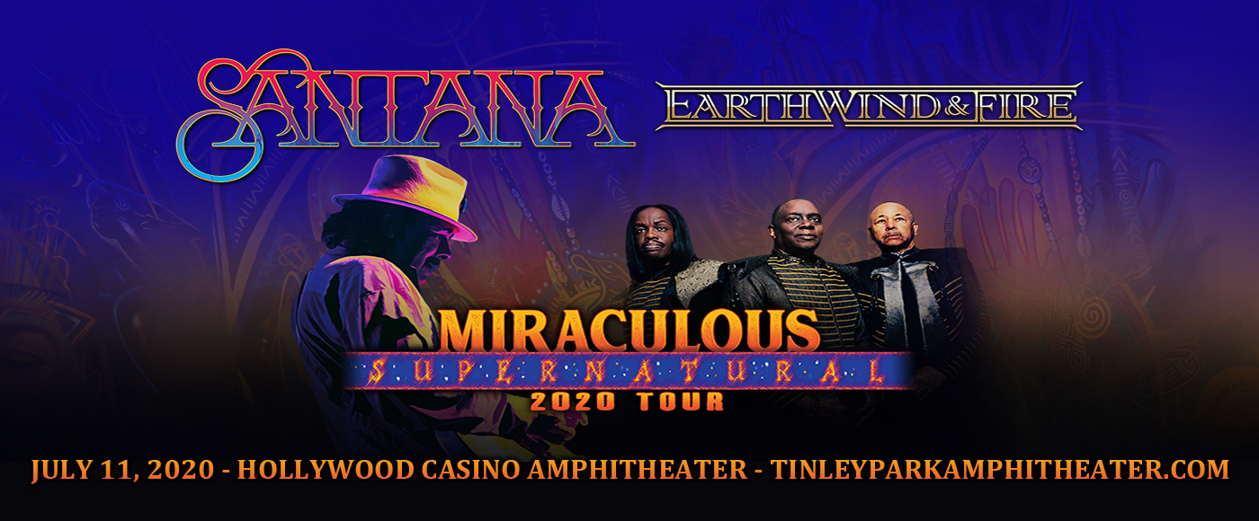 Santana & Earth, Wind and Fire at Hollywood Casino Amphitheatre