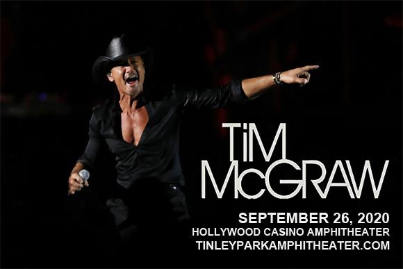 Tim McGraw at Hollywood Casino Amphitheatre