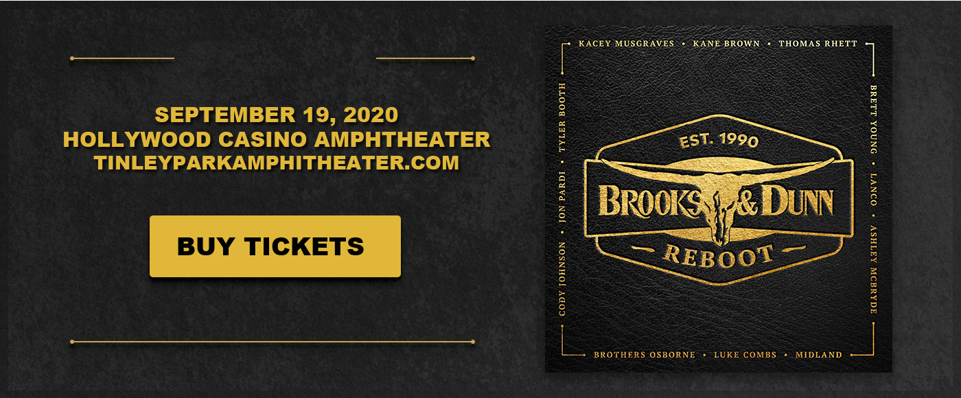 Brooks and Dunn [POSTPONED] at Hollywood Casino Amphitheatre