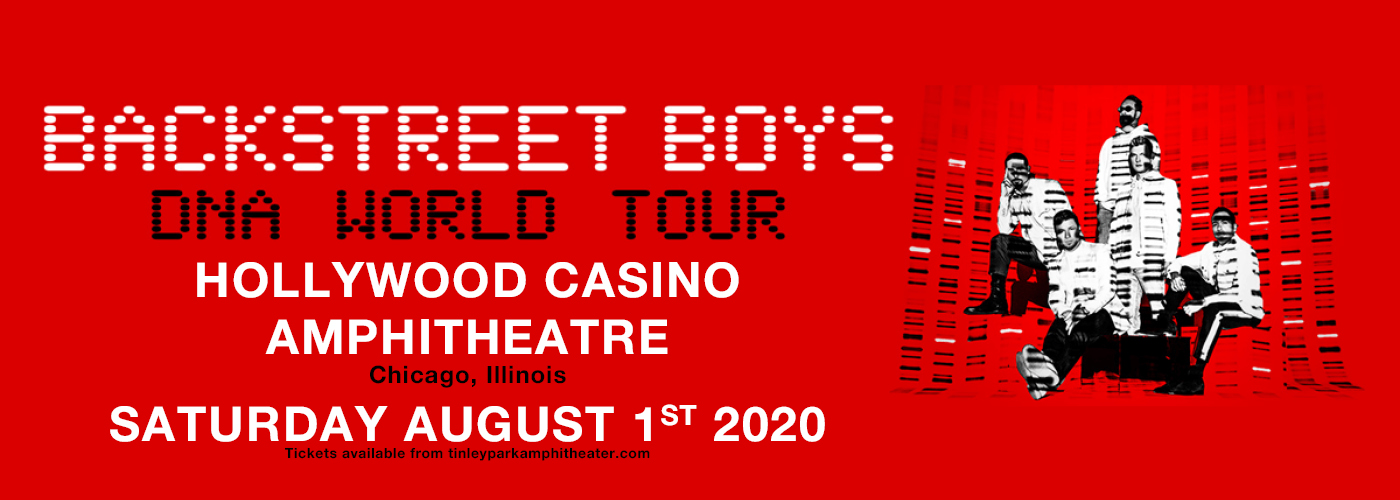 Backstreet Boys at Hollywood Casino Amphitheatre