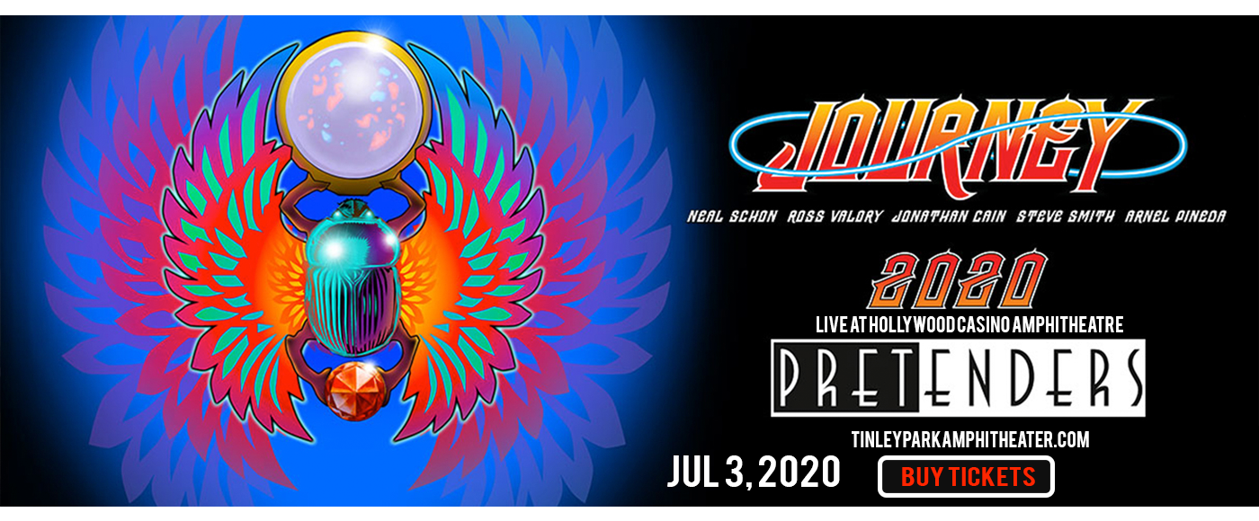 Journey & The Pretenders [CANCELLED] at Hollywood Casino Amphitheatre