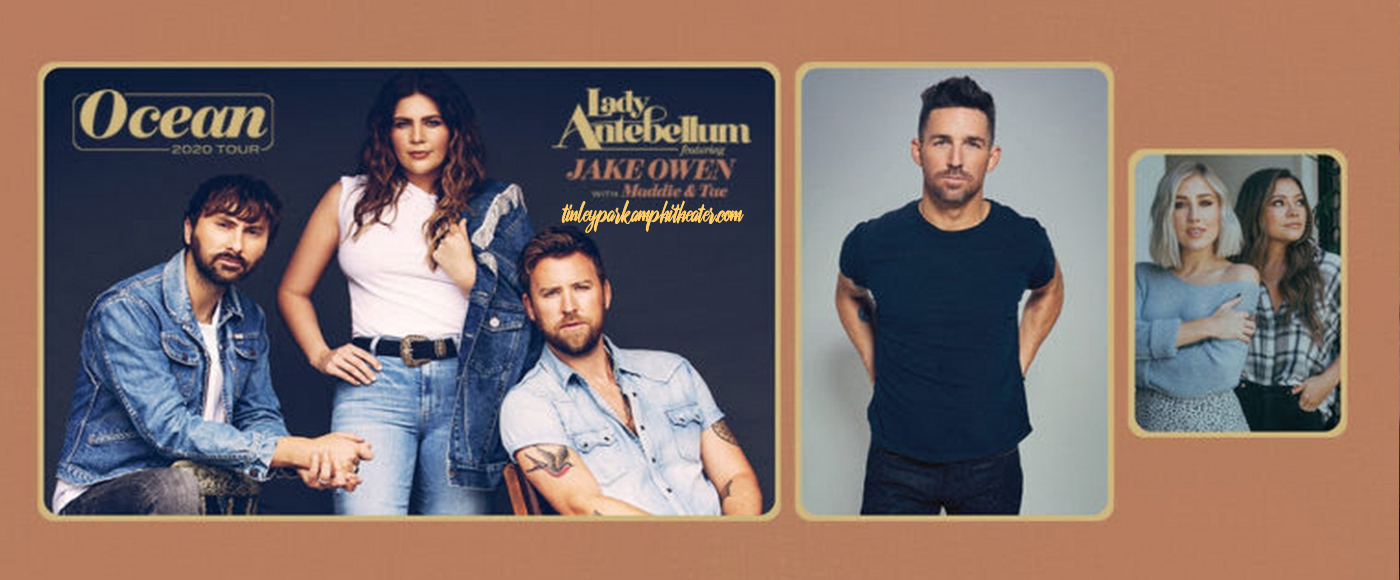Lady Antebellum, Jake Owen & Maddie and Tae [CANCELLED] at Hollywood Casino Amphitheatre
