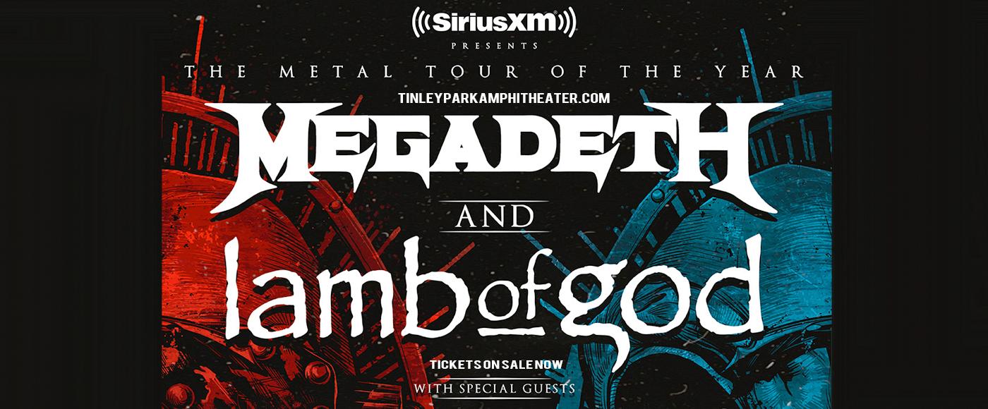 Megadeth & Lamb of God [POSTPONED] at Hollywood Casino Amphitheatre