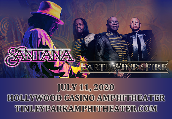 Santana & Earth, Wind and Fire [POSTPONED] at Hollywood Casino Amphitheatre