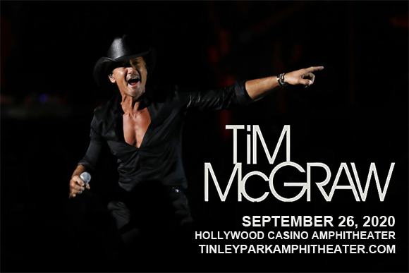Tim McGraw [CANCELLED] at Hollywood Casino Amphitheatre