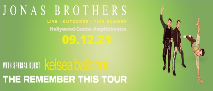 The Jonas Brothers at Hollywood Casino Amphitheatre