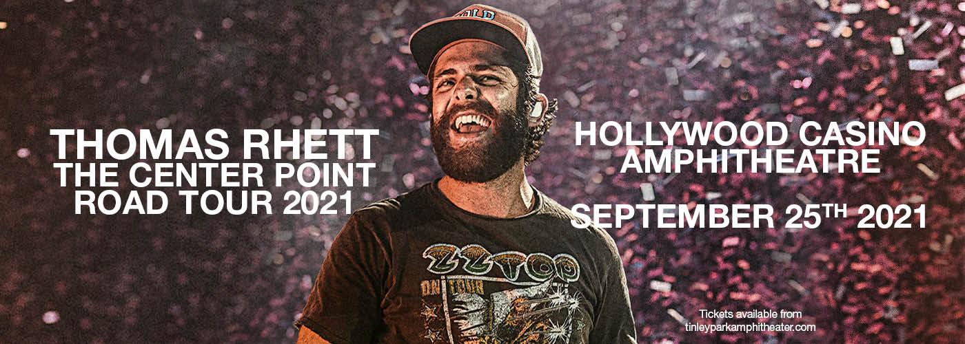 Thomas Rhett: The Center Point Road Tour 2021 at Hollywood Casino Amphitheatre