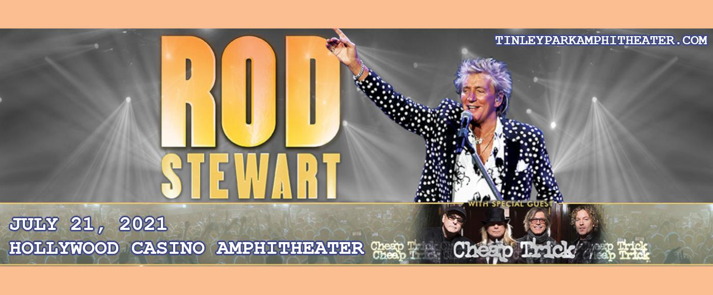 Rod Stewart & Cheap Trick at Hollywood Casino Amphitheatre