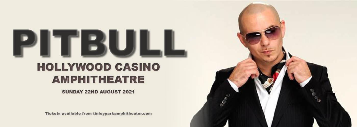 Pitbull at Hollywood Casino Amphitheatre